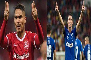 Copa de Brasil: Internacional de Porto Alegre, con Paolo Guerrero, enfrenta a Cruzeiro