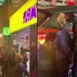 Mujer venezolana en estado de ebriedad arma escándalo en conocida tienda