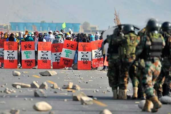 Arequipa: Antimineros vuelven a la carga