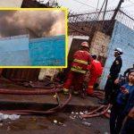 Cercado de Lima: incendio consume una vivienda [FOTOS Y VIDEO]