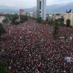 Protestas en Chile: reportan saqueo e incendio en Universidad Pedro de Valdivia
