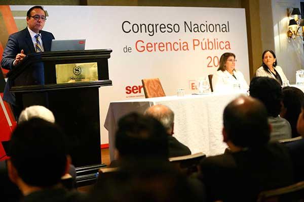 Servir: Gerentes públicos se reúnen en Lima