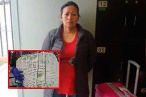 Cae con 90,000 dólares falsos en aeropuerto Jorge Chávez