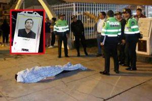 Los Olivos: trabajador de un centro comercial es asesinado a balazos por resistirse a robo