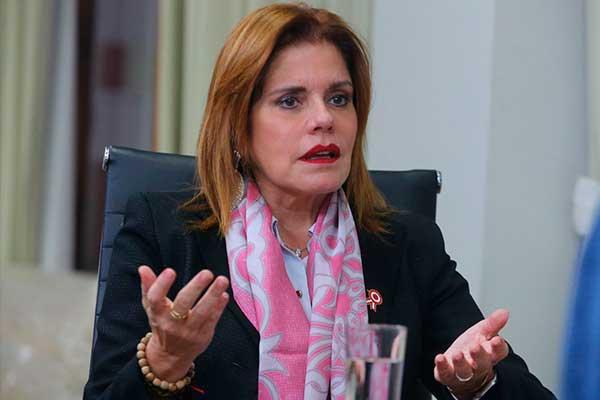 Mercedes Aráoz descartó integrar en el gabinete de Manuel Merino