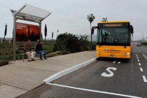 Metropolitano: Instalan primeros paraderos iluminados con energía solar