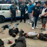 Bocanegra: capturan banda de 'marcas' que pretendían asaltar una agencia bancaria [VIDEO]