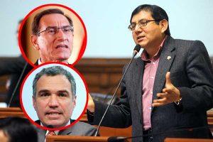 Neyra pide al procurador del Congreso que presente una denuncia contra Del Solar y Vizcarra