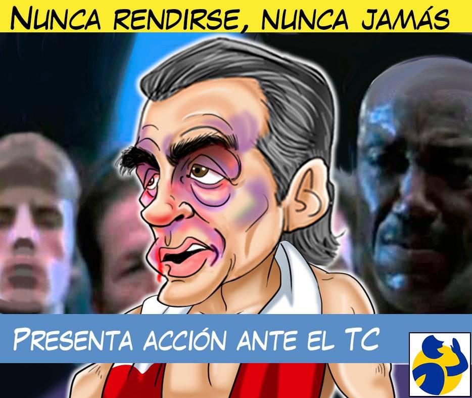 NUNCA RENDIRSE, NUNCA JAMÁS, por El Montonero