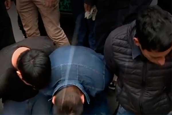 San Isidro: capturan a tres delincuentes luego de asaltar una tienda de equipos electrónicos [FOTOS]