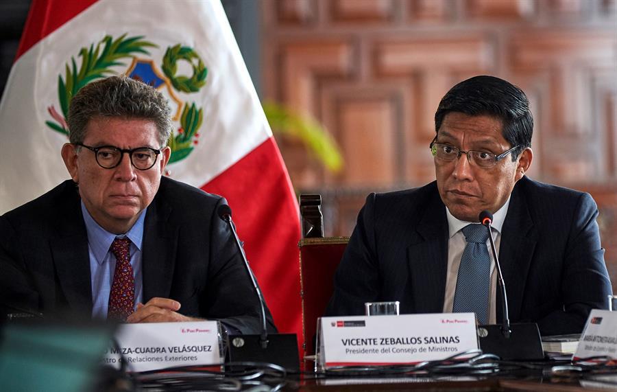 Vicente Zeballos: «A la fecha no hay ninguna acción que se haya impulsado en TC»