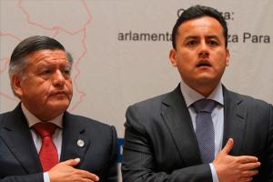 Richard Acuña pidió licencia al partido APP