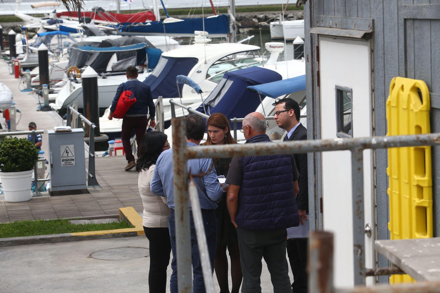 Fiscalía inspeccionó embarcadero de Alan García