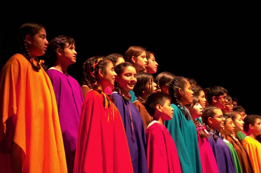 Coro Nacional de Niños presentan «La Jarana va a empezar»