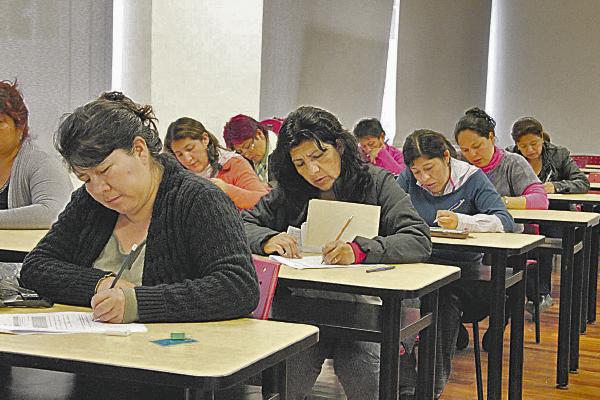 Más de 100 mil docentes rendirán evaluación
