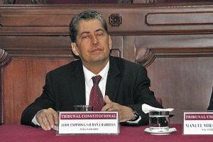 Pleno del TC emplaza a Espinosa-Saldaña