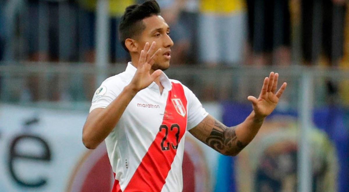 """¡GOL PERUANO! """"Canchita"""" Gonzales abre el marcador ante Uruguay en el Nacional"""