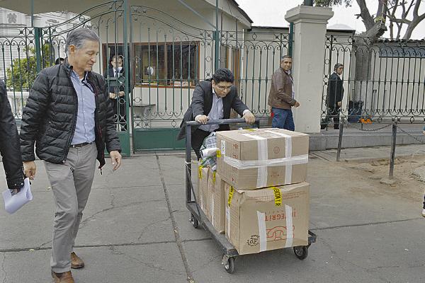 Mudanza forzosa en Palacio Legislativo