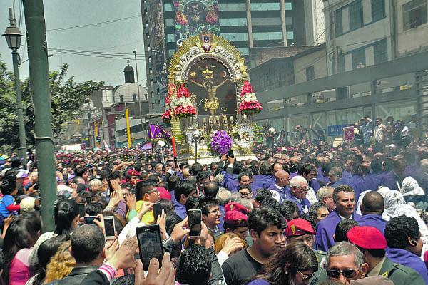 Cerrarán calles dos días por procesión