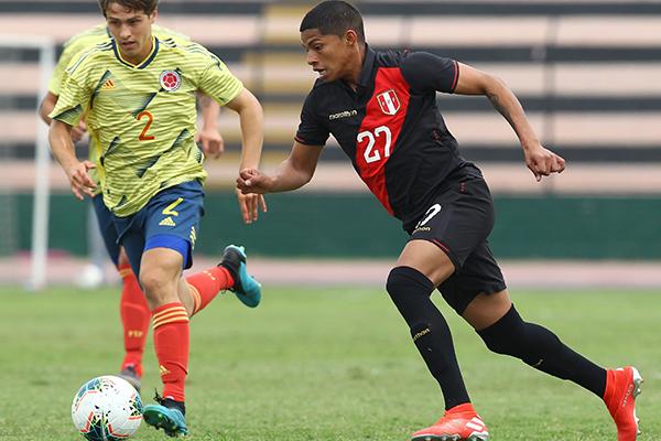 ¡UN DESASTRE! Selección Peruana sub23 perdió por goleada ante Colombia (3-0) en amistoso internacional