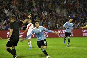 Uruguay vence por 1-0 a Perú por la fecha FIFA