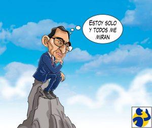 ESTOY SOLO Y TODOS ME MIRAN, por El Montonero