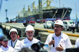 Fuerte inversión en puertos