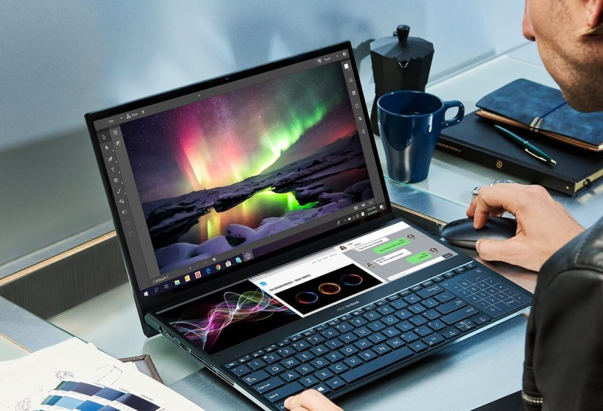 Revolucionaria laptop Zenbook Pro Duo