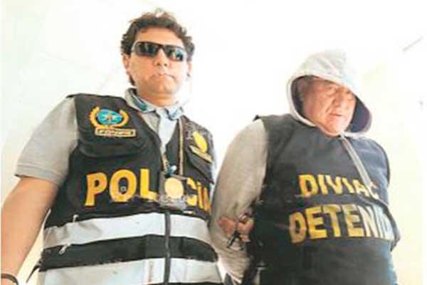 Cae jefe de Inspectoría de la PNP en Arequipa