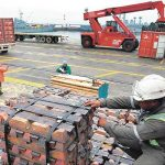 Exportaciones mineras casi 60% de envíos