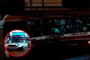 Chorrillos: delincuentes asaltan bus y balean a policía [VIDEO]