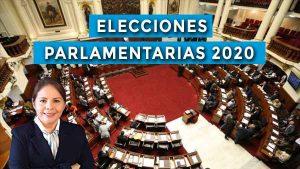 Dra: Beatriz Mejía: elecciones congresales 2020
