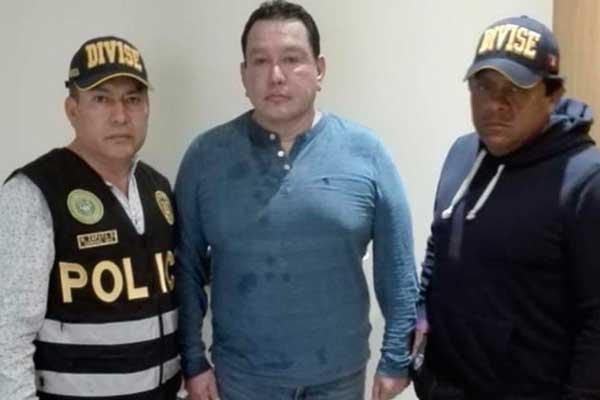 Félix Moreno fue capturado por la PNP en Cieneguilla