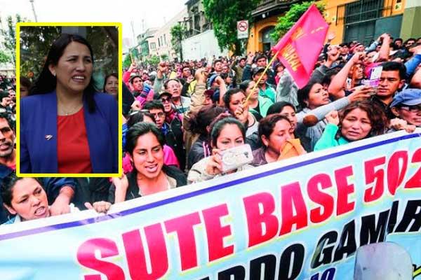 CAFÉ EXPRESO | Sutep va al paro justo cuando damos aumento, señala Flor Pablo Medina
