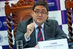 Caso arbitrajes: Jorge Ramírez señala que los investigados no podrán vender sus casas