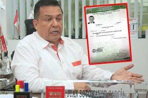 """Juan Sotomayor: """"No tengo procesos judiciales pendientes"""""""