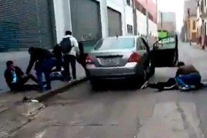 La Victoria: capturan a 3 sujetos que pretendían asaltar una casa de cambio [VIDEO]