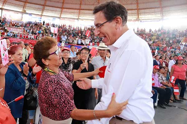 Vizcarra registra la peor caída de su popularidad