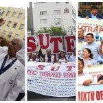 ¡En todo el país! Médicos, maestros y servidores del PJ inician paro nacional