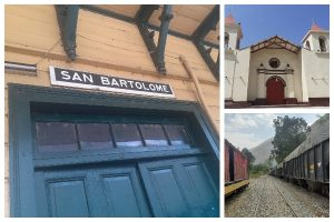 San Bartolomé, un paraje en la carretera
