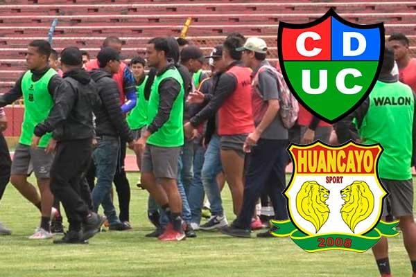 Denuncian a Sport Boys por amenazas de hinchas a árbitro y jugadores de Huancayo