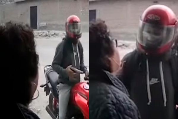San Juan de Lurigancho: anciana convence a ladrón para que se vaya sin robar