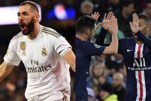 PSG le empató al Real Madrid (2-2) por la fase de grupos de la UEFA Champions League
