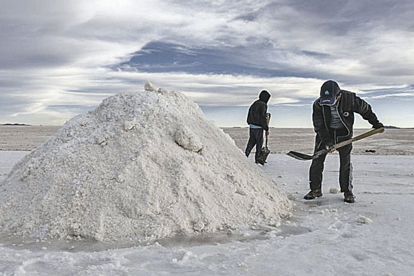 Litio en el Sur está cerca de la frontera con Bolivia