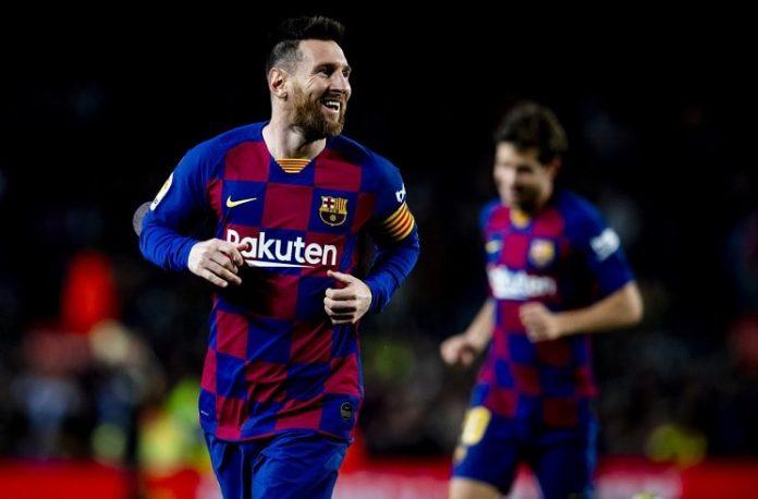 Messi salva al Barza