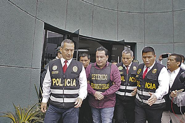 PNP conocía guarida de Moreno hace un mes