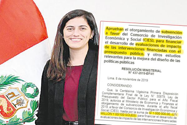María Antonieta Alva, reina y señora de las consultorías caviares