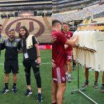 Copa Libertadores 2019: Universitario de Deportes regalaron camisetas a River Plate y Flamengo