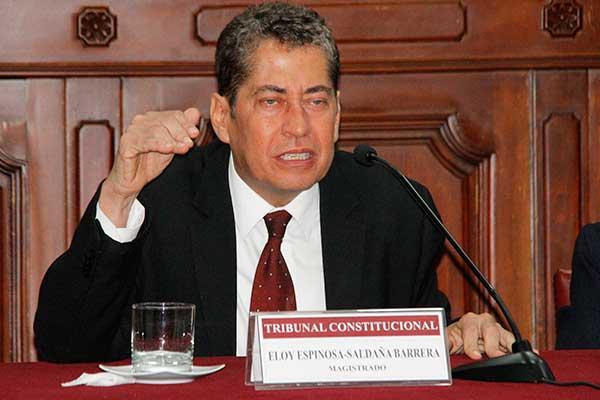 Crisis institucional amenaza al Tribunal Constitucional