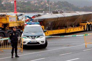 Marina de Perú incauta submarino con 2 toneladas de droga